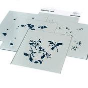 Be Strong Layering Stencil Set - Pinkfresh Studio - PRE ORDER