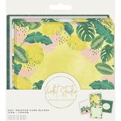 Tropical Printed Card Blanks - Violet Studio - Crafter's Consortium