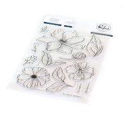 It's a New Day Floral Stamp Set - Pinkfresh Studio - PRE ORDER
