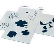 It's A New Day Floral Layering Stencil Set - Pinkfresh Studio - PRE ORDER