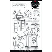 A Day At The Beach Stamp Set - Say It With Stamps - Photoplay