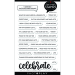 Celebrate Stamp Set - Say It With Stamps - Photoplay - PRE ORDER
