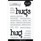 Hug/Hugs Stamp Set - Say It With Stamps - Photoplay