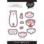 Bear Hug Dies - Say It With Stamps - Photoplay - PRE ORDER