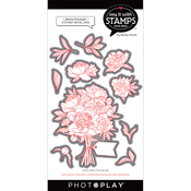 Peony Bouquet Dies - Say It With Stamps - Photoplay