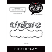 Awesome Word Dies - Say It With Stamps - Photoplay - PRE ORDER