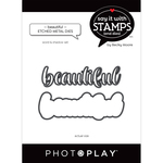 Beautiful Word Dies - Say It With Stamps - Photoplay