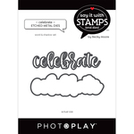 Celebrate Word Dies - Say It With Stamps - Photoplay