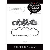 Celebrate Word Dies - Say It With Stamps - Photoplay - PRE ORDER