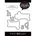 Hug/Hugs Word Dies - Say It With Stamps - Photoplay