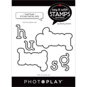 Hug/Hugs Word Dies - Say It With Stamps - Photoplay - PRE ORDER