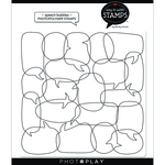 Speech Bubbles Background Stamps - Say It With Stamps - Photoplay