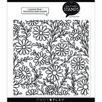 Summer Floral Background Stamps - Say It With Stamps - Photoplay