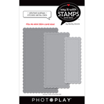 #6 Nested Stitched Scallops Dies - Say It With Stamps - Photoplay