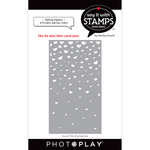 #6 Falling Hearts Coverplate Dies - Say It With Stamps - Photoplay