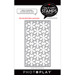 #6 Daisy Coverplate Dies - Say It With Stamps - Photoplay