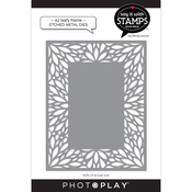 A2 Leafy Frame Coverplate Dies - Say It With Stamps - Photoplay