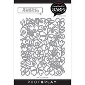 A2 Tossed Flowers Dies - Say It With Stamps - Photoplay