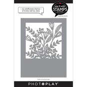 A2 Wildflowers Coverplate Dies - Say It With Stamps - Photoplay