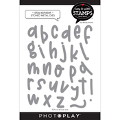 Ditsy Alpha Dies - Say It With Stamps - Photoplay - PRE ORDER