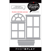 Windows Dies - Say It With Stamps - Photoplay