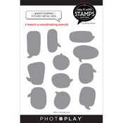 Speech Bubbles Dies - Say It With Stamps - Photoplay