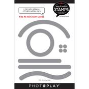 #6 Slim Penny Slider Dies - Say It With Stamps - Photoplay