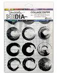 Elements 7.5 x 10 Inch Tissue Collage Paper - Dina Wakley