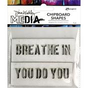 Speak Out Dina Wakley Media Chipboard Shapes