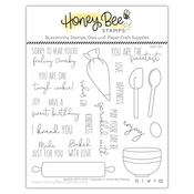 Baked With Love 6x6 Stamp Set - Honey Bee Stamps