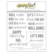 Kiss The Cook 6x6 Stamp Set - Honey Bee Stamps