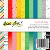 Funfetti Birthday Paper Pad 6x6 - Honey Bee Stamps