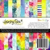 Team Tie-Dye Paper Pad 6x6 - Honey Bee Stamps