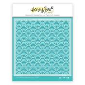 Honey Dipper Background Stencil - Honey Bee Stamps