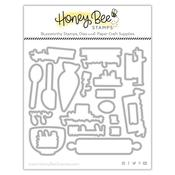 Baked With Love - Honey Cuts - Honey Bee Stamps