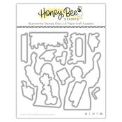 Cap And Gown - Honey Cuts - Honey Bee Stamps