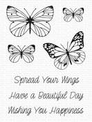 Spread Your Wings Clear Stamps - My Favorite Things
