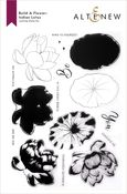 Build-A-Flower: Indian Lotus Layering Stamp & Die Set - Altenew