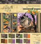 Midnight Tales 8x8 Paper Pad - Graphic 45