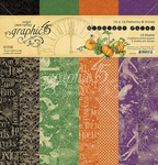 Midnight Tales 12x12 Solids & Patterns Paper Pad - Graphic 45
