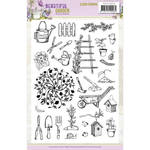 Beautiful Garden Clear Stamps - Find It Trading