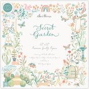 Secret Garden 12x12 Paper Pad - Craft Consortium