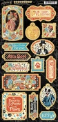 Well Groomed Chipboard - Graphic 45 - PRE ORDER