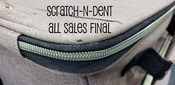 SCRATCH-N-DENT - Crafter's Rolling Bag - AS IS - FINAL SALE
