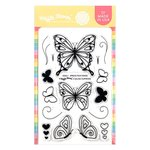 Spread Your Wings Stamp Set - Waffle Flower Crafts