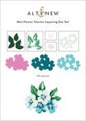 Mini Flower Cluster Layering Die Set - Altenew