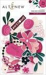 Wildflower Pink Posy Ephemera - Altenew