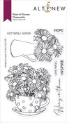 Paint-A-Flower: Chamomile Outline Stamp Set - Altenew