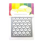 Outlined Butterflies Panel Die - Waffle Flower Crafts