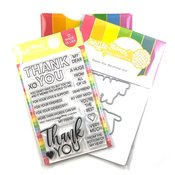 Thank You Combo - Waffle Flower Crafts